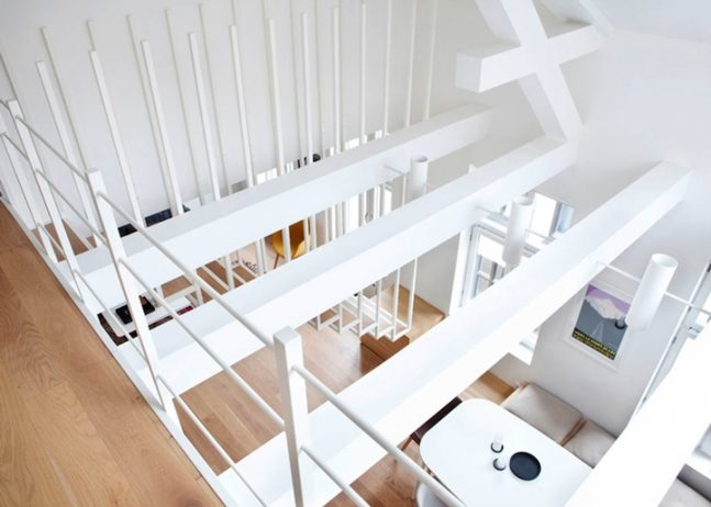 Suspended Staircase Converted into Stunning Versatile Structure. 4