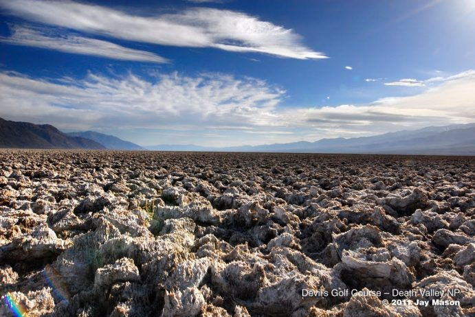 The Salt Pan of Devil's Golf Course Death Valley in California15