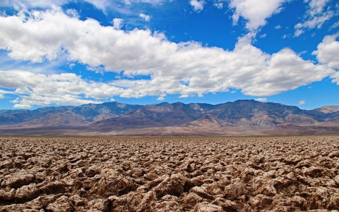 The Salt Pan of Devil's Golf Course Death Valley in California22