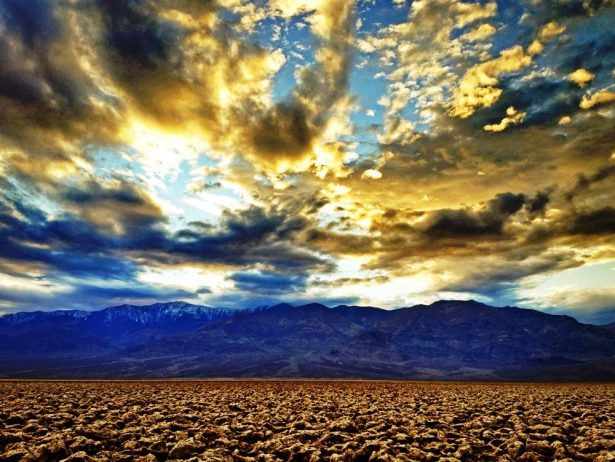 The Salt Pan of Devil's Golf Course Death Valley in California25