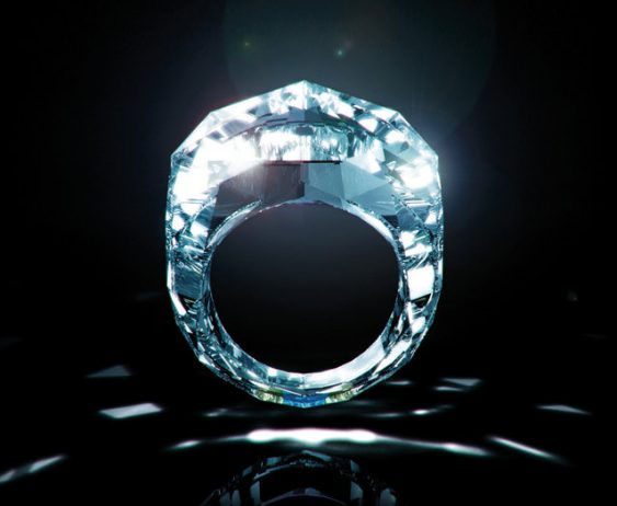 World's First Exquisite All Diamond Ring