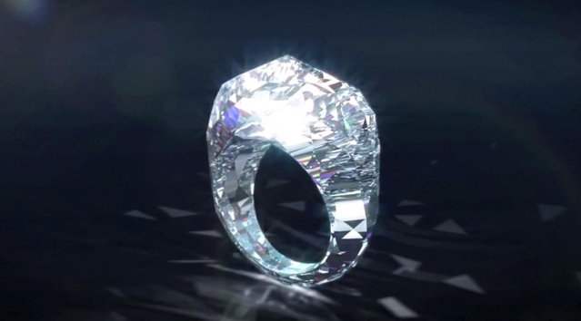World's First Exquisite All Diamond Ring1