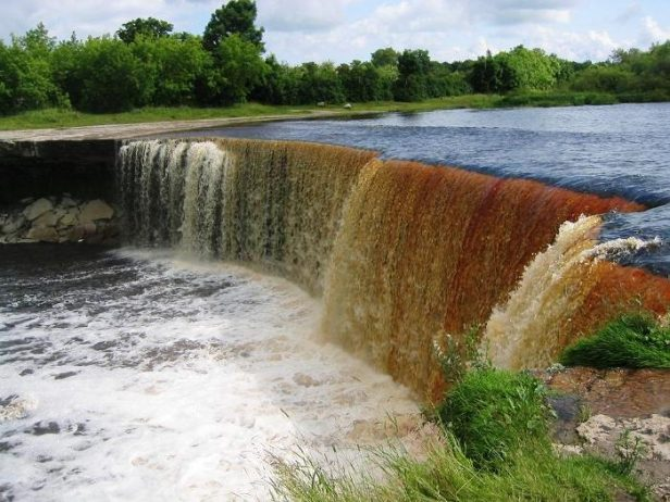 Jagala waterfall Estonia