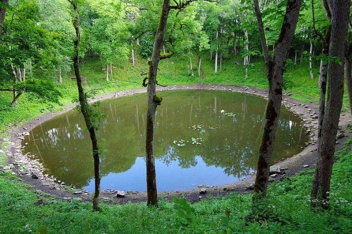 Kaali Meteorite Crater Estonia