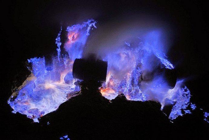 Kawah Ijen, The Volcano That Spews Blue Flames11