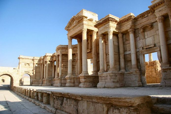 Roman Theatre at Palmyra Syria11
