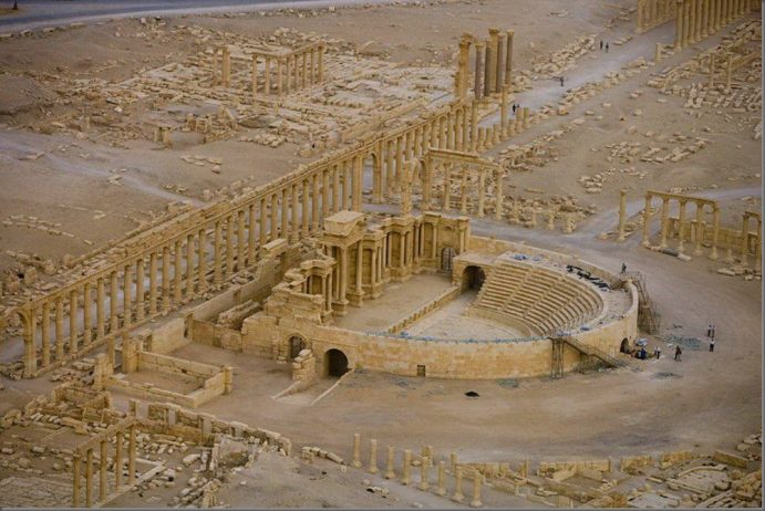Roman Theatre at Palmyra Syria17