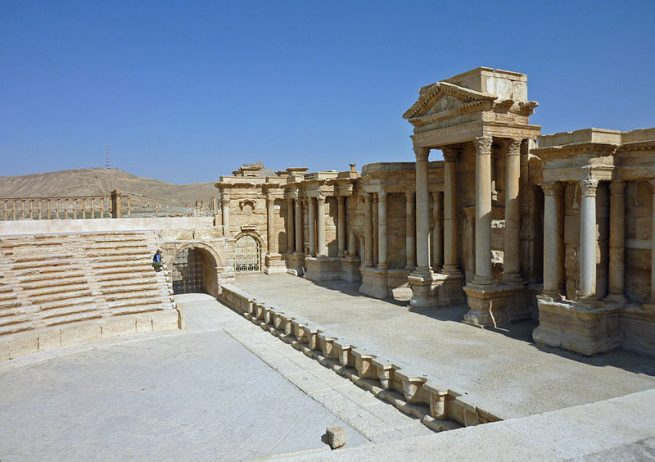 Roman Theatre at Palmyra Syria2