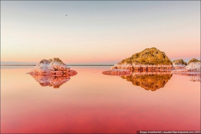 Sivash Salt Lagoons in the Crimean Peninsula10