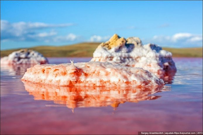 Sivash Salt Lagoons in the Crimean Peninsula14