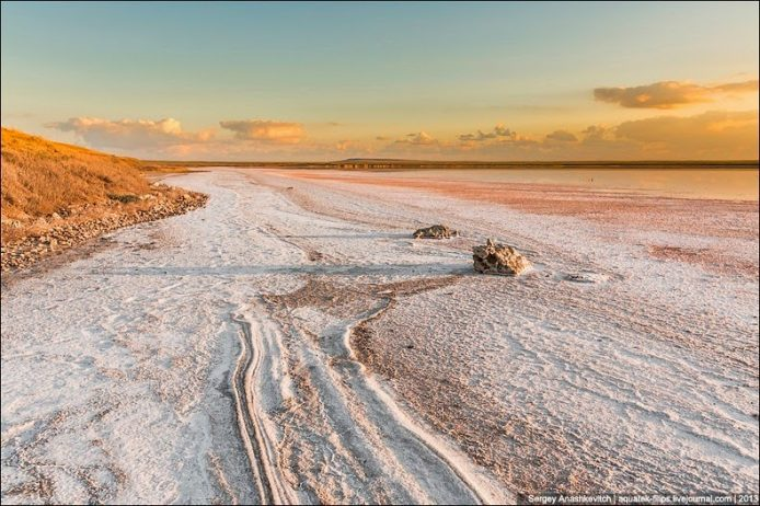 Sivash Salt Lagoons in the Crimean Peninsula3