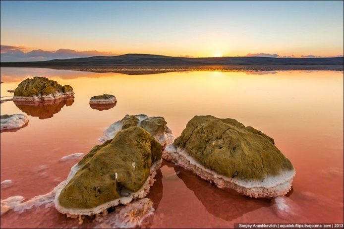 Sivash Salt Lagoons in the Crimean Peninsula8