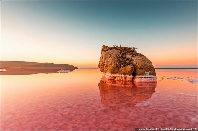 Sivash Salt Lagoons in the Crimean Peninsula9
