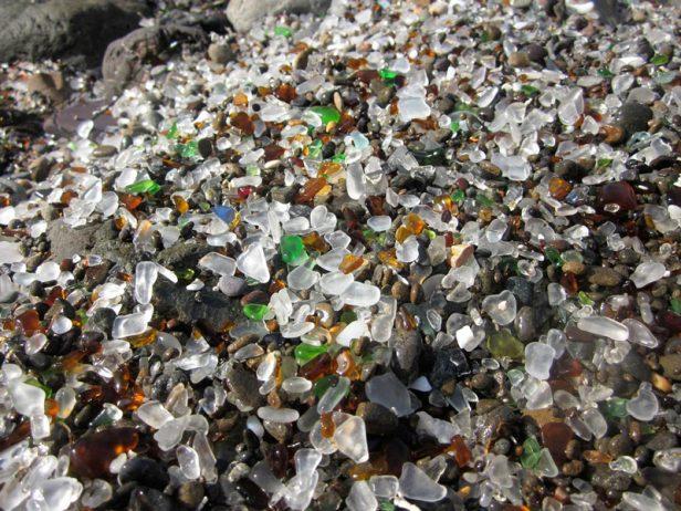 Sparkling Glass Beach of California 10