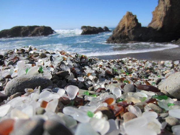 Sparkling Glass Beach of California 15