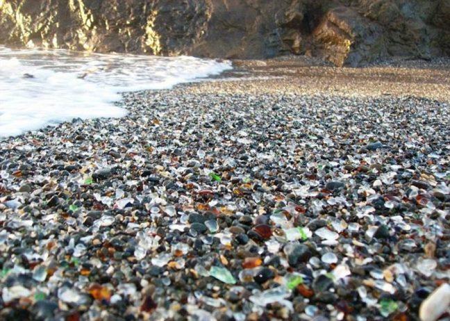 Sparkling Glass Beach of California3