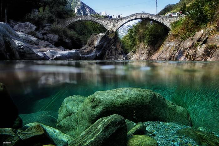 Verzasca River Switzerland