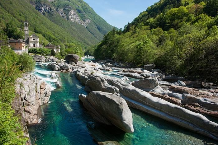 Verzasca River Switzerland10