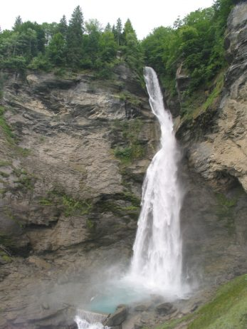Reichenbach waterfall. Sights of Switzerland. Interesting facts about the waterfall 63