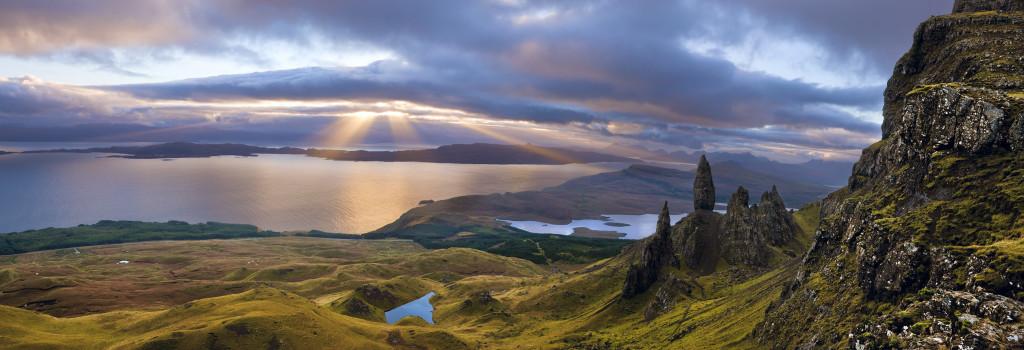 Sunrise over the Old Man of Storr, Isle of Skye, Scotland