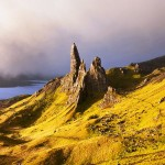 Old Man of Storr in the Isle of Skye