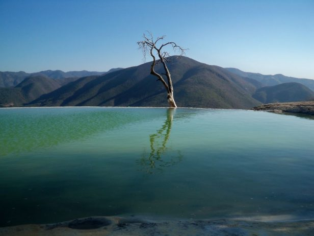 Most beautiful natural attractions in Central Valleys of Oaxaca, Hierve el Agua provides an unusual and off-the-beaten-path travel experience.