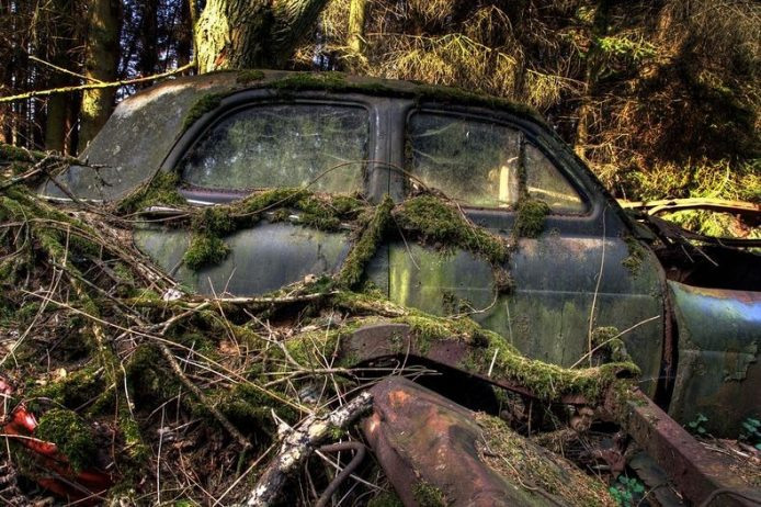 Chatillion is a small village in Belgium to be home of vintage abandoned and beautiful rusty Cars Graveyard were stolen by car collectors