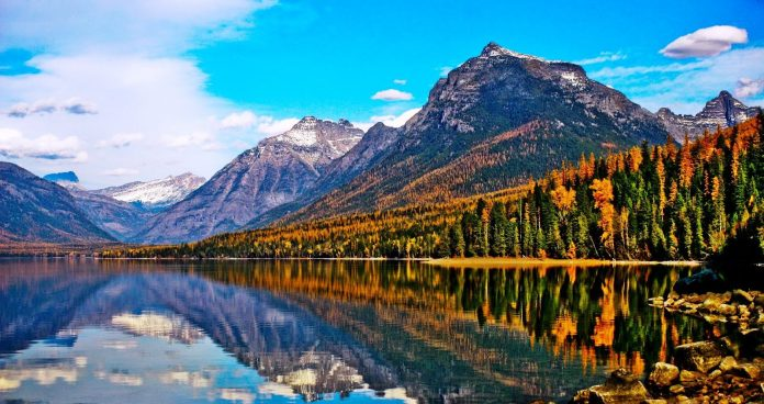 Lake McDonald is the largest lake in Glacier National Park ...