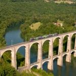 Cize–Bolozon Viaduct: A Rail-Road Crossing Bridge in France