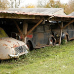 Wow; 60 Vintage Cars Found after 50 Years of Neglect on French Farm, Worth £12 Million