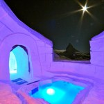 Stunning Igloo Hotel with Private Pools, Mountain Saunas and Candle-lit Suites
