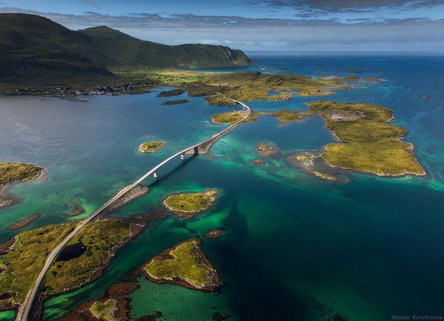 Lofoten Islands Fredvang Bridges
