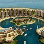 The Pearl-Qatar in Doha, Qatar