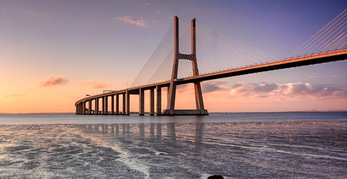 Ponte Vasco Da Gama Bridge One Of Longest Bridge In Europe