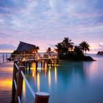 The world's most attractive opulent over-water getaways