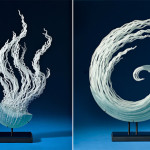 Flowing Glass Sculptures Inspired by the Ocean and Undersea Creatures