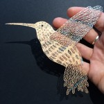 An Artist Creates Intricate Scenes by Snipping Away at Paper