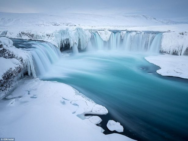 Iceland's spectacular Gullfoss waterfall is situated on the popular Golden Circle, a route tourists can arrange to travel through the hotel