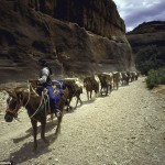 The Havasupai Tribe is the Smallest Indian Nation in America, Which can be visited by Helicopter or Mule
