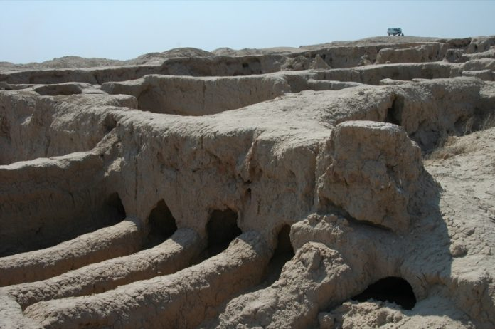 No one really knows that these tunnels were built for.  Even the famous Russian-Greek archaeologist, Viktor Sarianidi, has not been able to confirm the reason for their existence. He does have a theory that Gonur Depe was either the birthplace of Zoroastrianism or its religious predecessor.