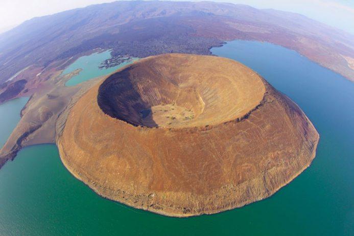 Nabiyotum Crater Lake Turkana was taken by the photographer Christian Strebel on 22 April 2009