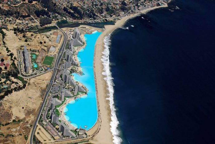 Worlds Largest Outdoor Pool At Chiles San Alfonso Del Mar Resort >> Chile S World S Largest Swimming Pool Is An Engineering Miracle