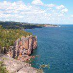 Palisade Head Cliffs on Lake Superior