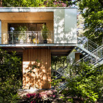 Urban Treehouses in Berlin Equipped with Kitchen and Bath for Long-Term Living