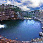 The Charming Desoto Falls, of Mentone, Alabama