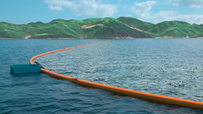 This 2,000m floating line will become the longest floating structure in the world when it's deployed in 2016