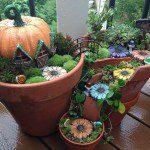 Fantastic DIY Project Transforms Broken Pots into Lovely Fairy Gardens