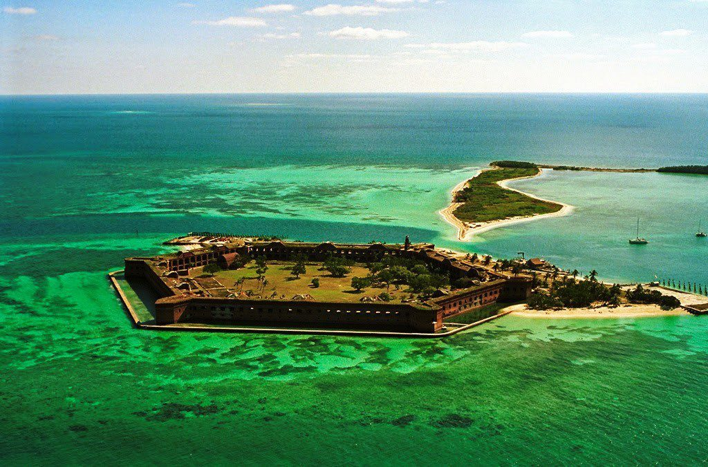 The massive fort construction started in 1846 and continued for 30 years