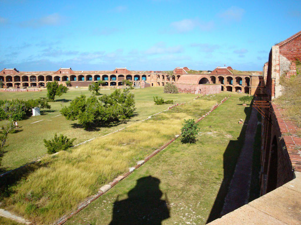 Fort Jefferson, the most sophisticated of these, was a brilliant and undeniable symbol that the United States wanted to be left alone.