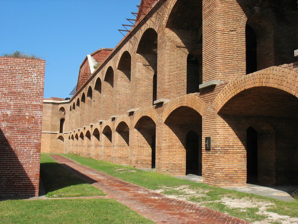 The Fort is beautifully composed with more than 16 million bricks